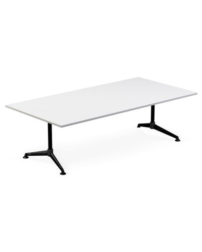 Modulus Single Post Meeting Table