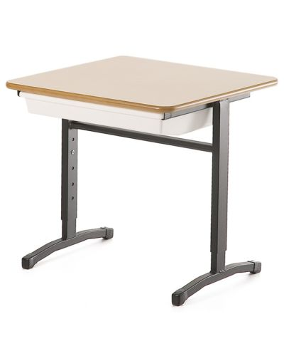 Adjustable Height Single Student Desk