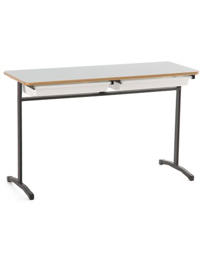 Adjustable Height Double Student Desk