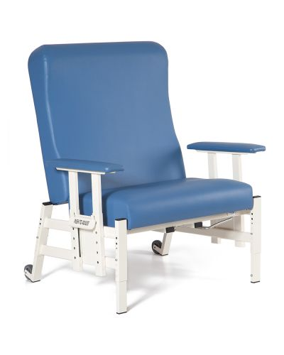 Adjustable Healthcare Patient Lounge Chair Bariatric Size with Adjustable Arms
