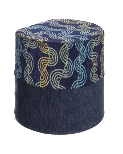 Be-Bop Multi Coloured Ottoman