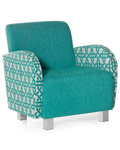 Bella Single Lounge Chair With Arms
