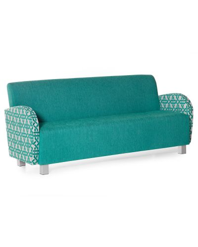Bella Triple Lounge Chair - With Arms