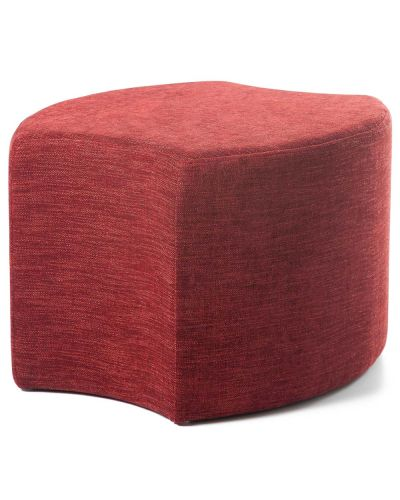Bloom Pedal Shaped Ottoman