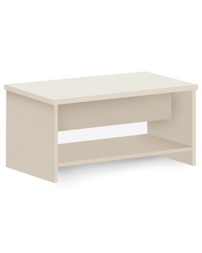 Commercial Coffee Table With Magazine Shelf
