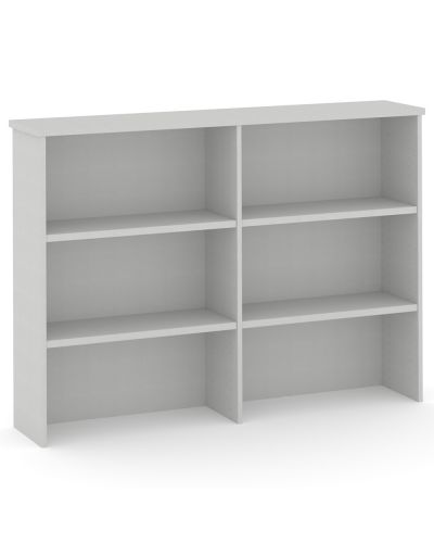 Commercial Overhead Bookcase Hutch