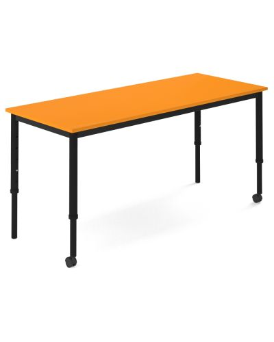 SmarTable Clique Straight Height Adjustable Student Desk - Clearance