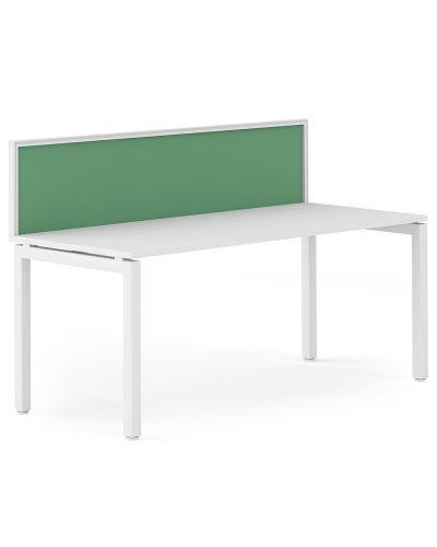 Cosmo 30 Desk Mount - Single Straight Workstation