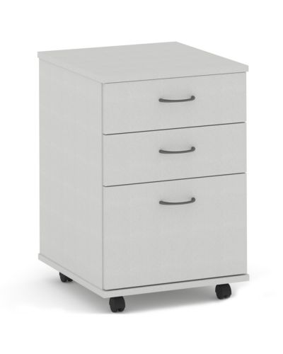 Commercial Mobile Pedestal - 2 Pen / 1 File Drawer