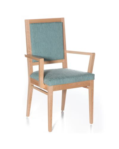 Cinquanta Upholstered Visitor Chair - With Arms