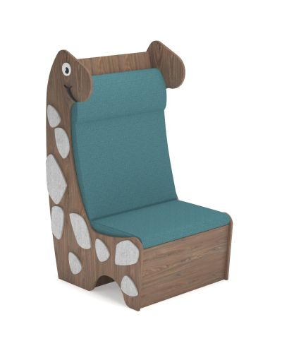 Diplo Den Reading Chair - Straight