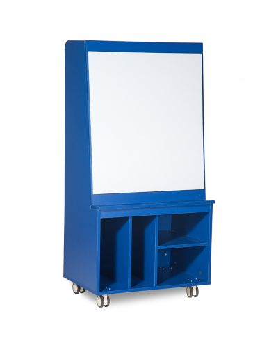 Doodle Cart Mobile Whiteboard Storage