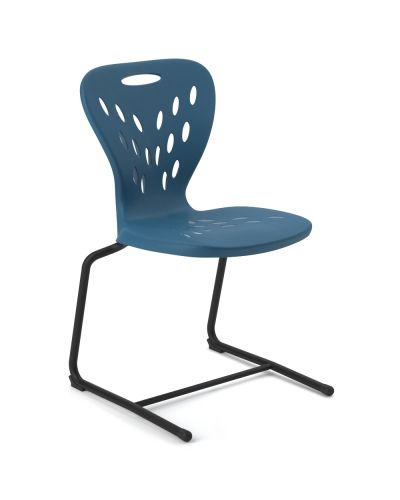 Dynami Sled Base Student Chair - High Back
