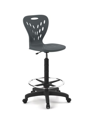 Dynami Drafting Student Chair - High Back