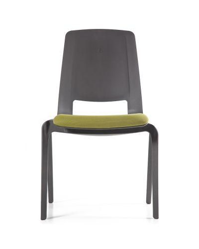 Fino Stacking Chair - Upholstered Seat