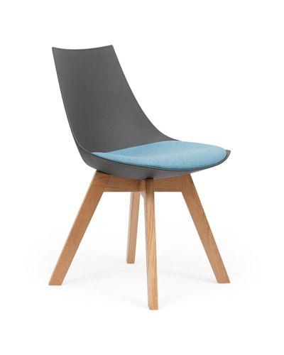 Luna Oak 4 Leg Chair