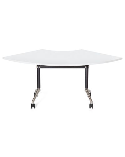 Mars Curve Mobile Flip Top Table
