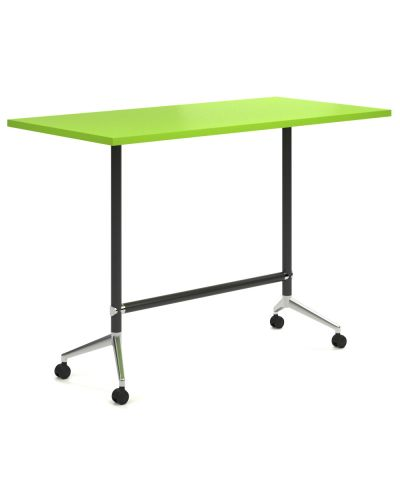 Mars High Mobile Flip Top Table - Clearance