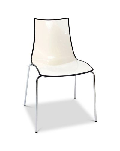 Modello Bicolore - 4 Leg Stacking Chair