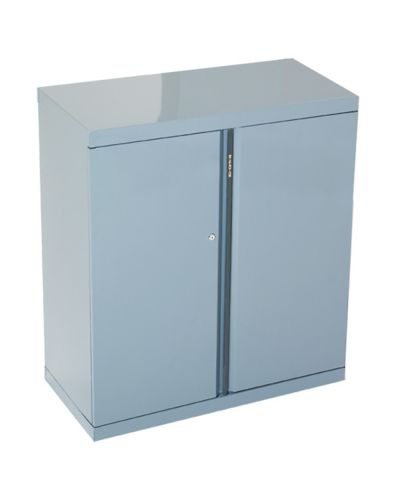 Metal Statewide 2 Shelf Cupboard
