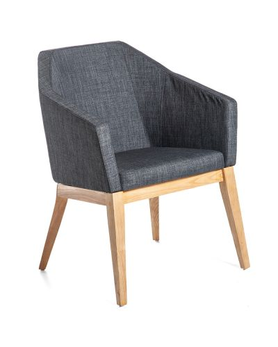 Navarra Visitor Chair Timber Frame