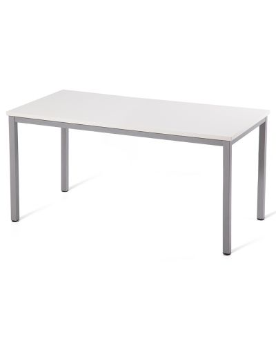 General Purpose Silver Steel Frame Table