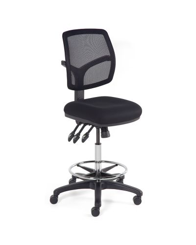 Riva Max Mesh Ergo Chair With Drafting Base
