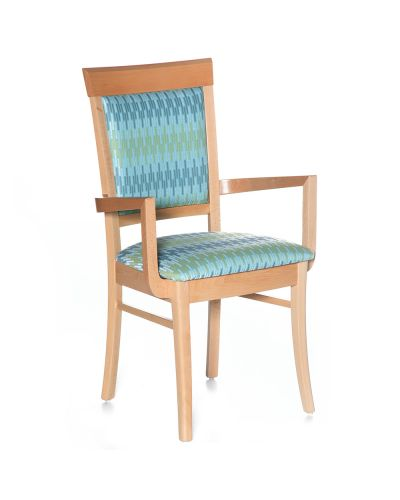 Rimini Stackable Side Chair - With Arms