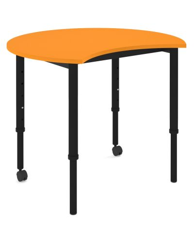 SmarTable Carve Height Adjustable Student Table - Clearance