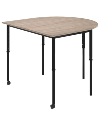 SmarTable Clique D-End Sit-Stand Table