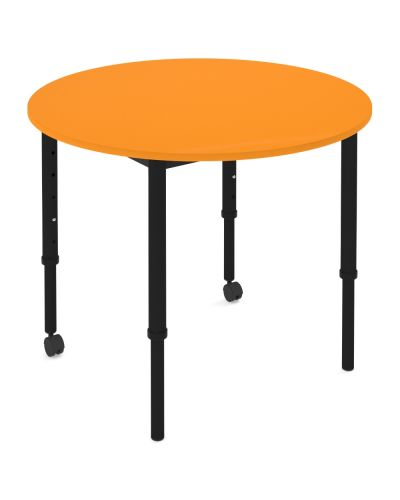 SmarTable Crew Round Height Adjustable School Table - Clearance