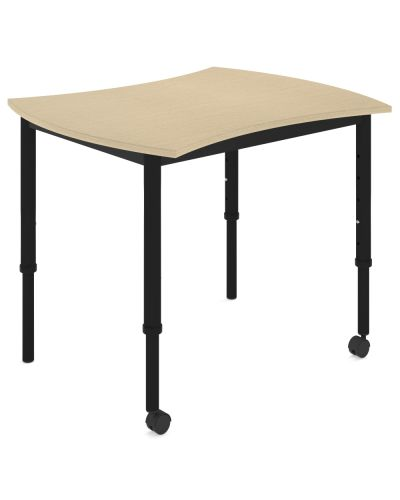 SmarTable Squeeze Height Adjustable Student Table