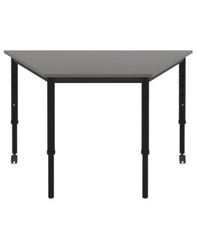 SmarTable Trapezoid Height Adjustable Student Table