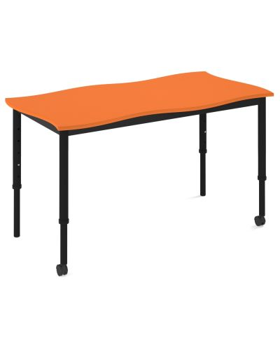 SmarTable Twist Double Height Adjustable Student Desk - Clearance