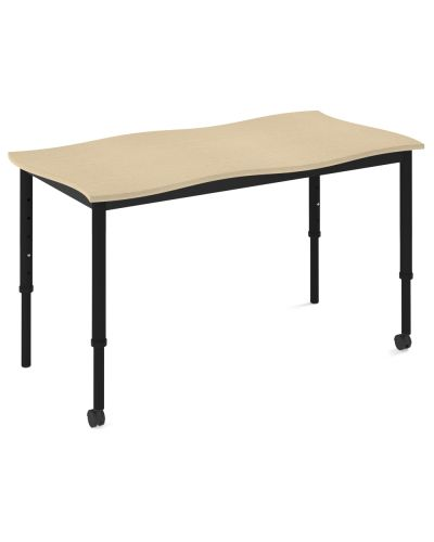 SmarTable Twist Double Height Adjustable Student Desk