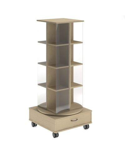 Spinner Book Display Unit