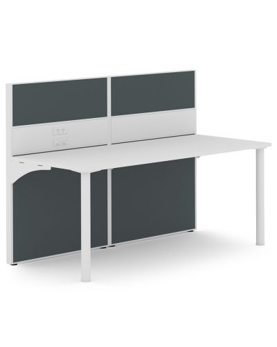 Urban 50 Rondella - Single Straight Workstation - Clearance