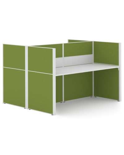 Urban 50 Wrap Around - 2 Person Back To Back Workstation - Clearance