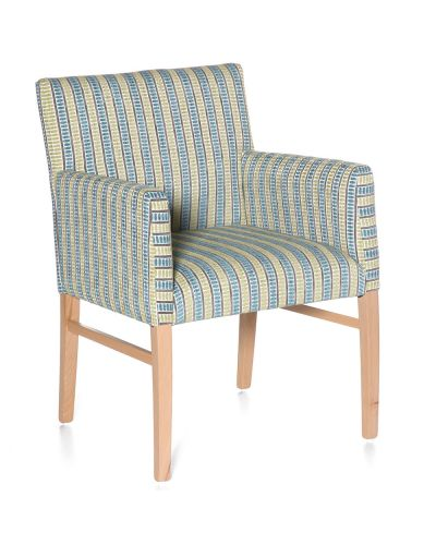 Victoria Upholstered Visitor Chair - With Arms