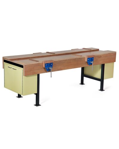 101 Wood Working Bench With Cupboards