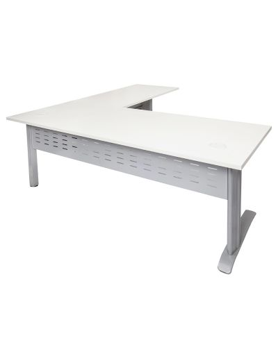 Basics Span Desk With Return
