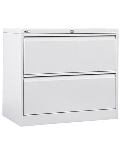 Basics Lateral Filing Cabinet - 2 Drawer