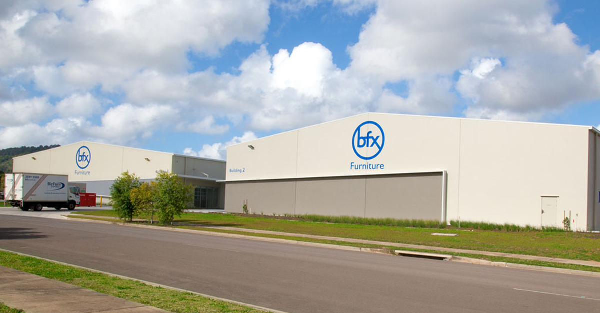 BFX Furniture's Brand New Sunshine Coast Warehouse Complete 4