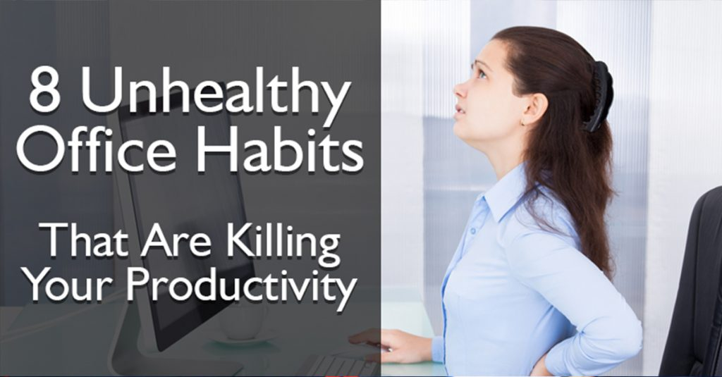 Unhealthy Office Habits