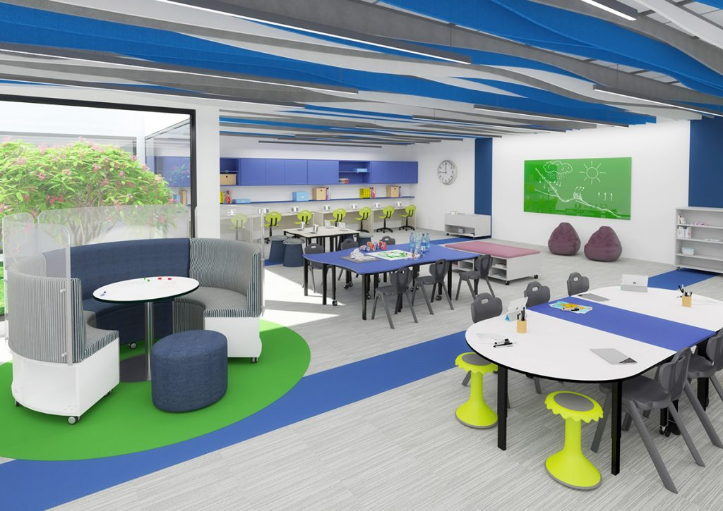 How Classroom Design Can Reduce Noise 2