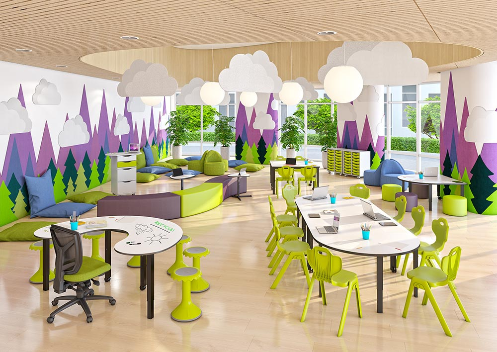 How Classroom Design Can Reduce Noise 4