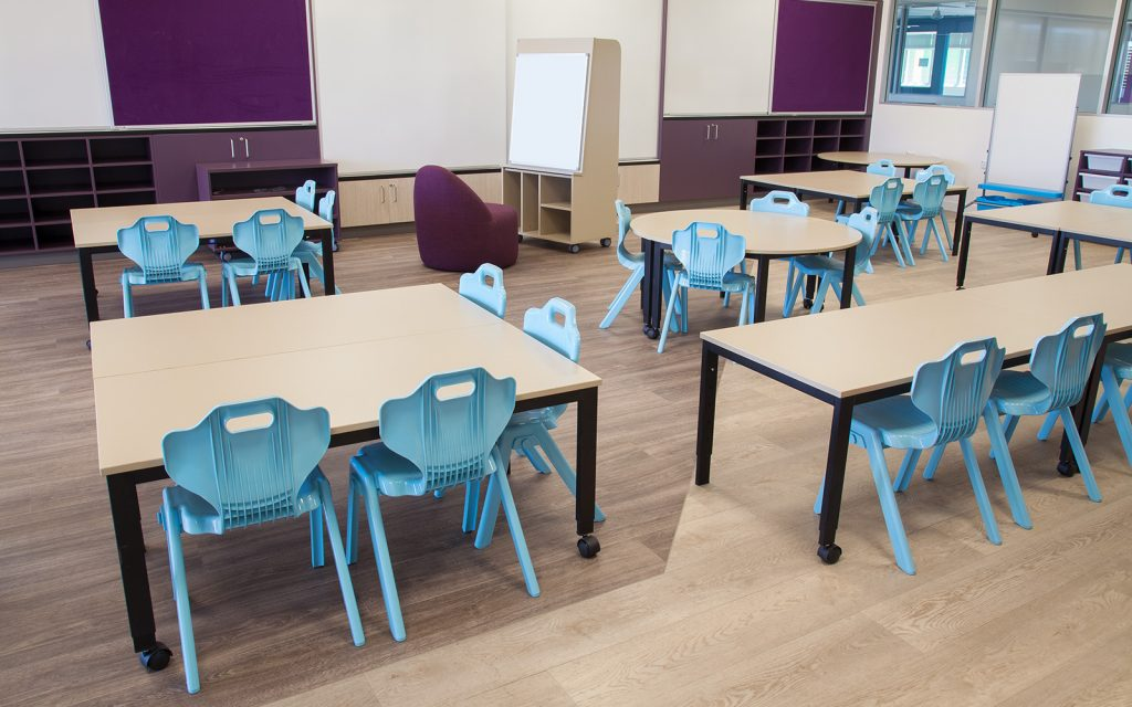 Eliminating the Teacher Desk: A Growing Classroom Trend 1