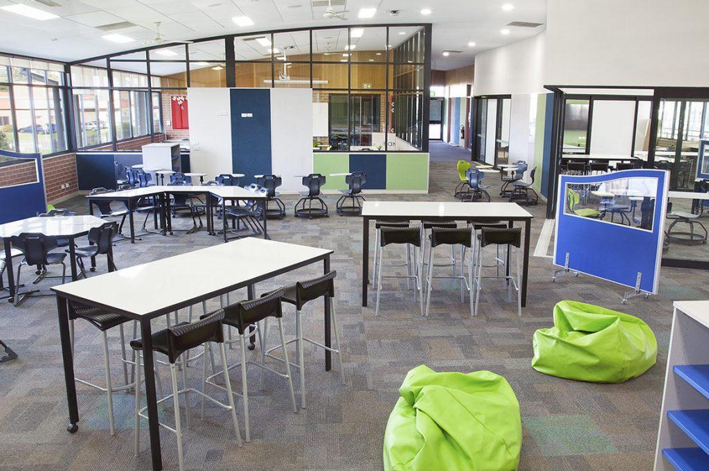 Truly Agile & Adaptable Spaces at Corpus Christi Catholic High School 1
