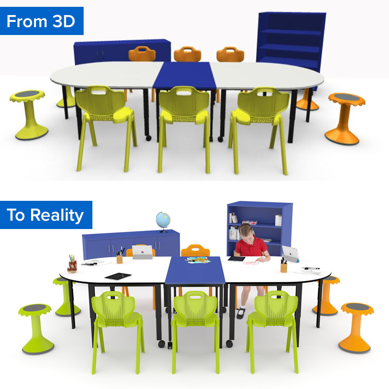 Future Focused Learning Zones Have Officially Landed in the BFX 3D Room Planner 3