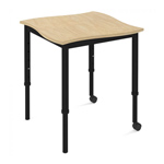 Adjustable Height Student Table